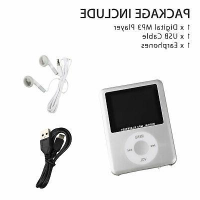 "8GB-32GB MP3 MP4 Player 1.8"" LCD Screen Video Radio FM US"