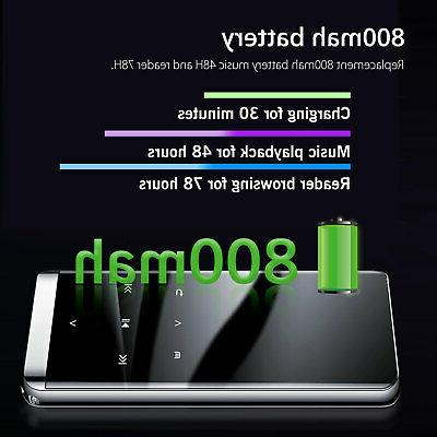Bluetooth MP3 Player Touch Screen FM Earphone