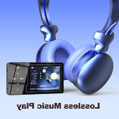 RUIZU Lossless MP3 Music Player WMA FLAC Radio