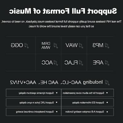 RUIZU D08 8GB MP3/4 Lossless Hifi Digital Player FM TF OTG TFT