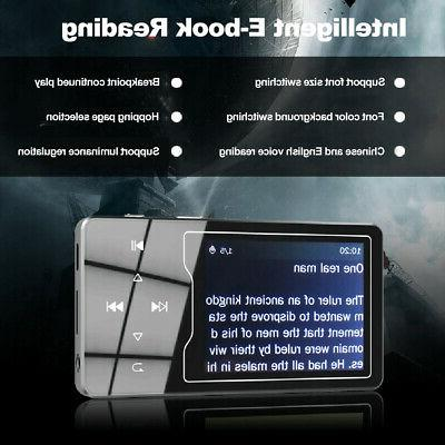 8GB MP4 Player Player Lossless FM T0C8