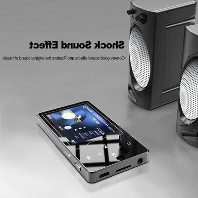 "RUIZU 8GB MP3 MP4 Digital Player 2.4"" Screen Music Player Au"