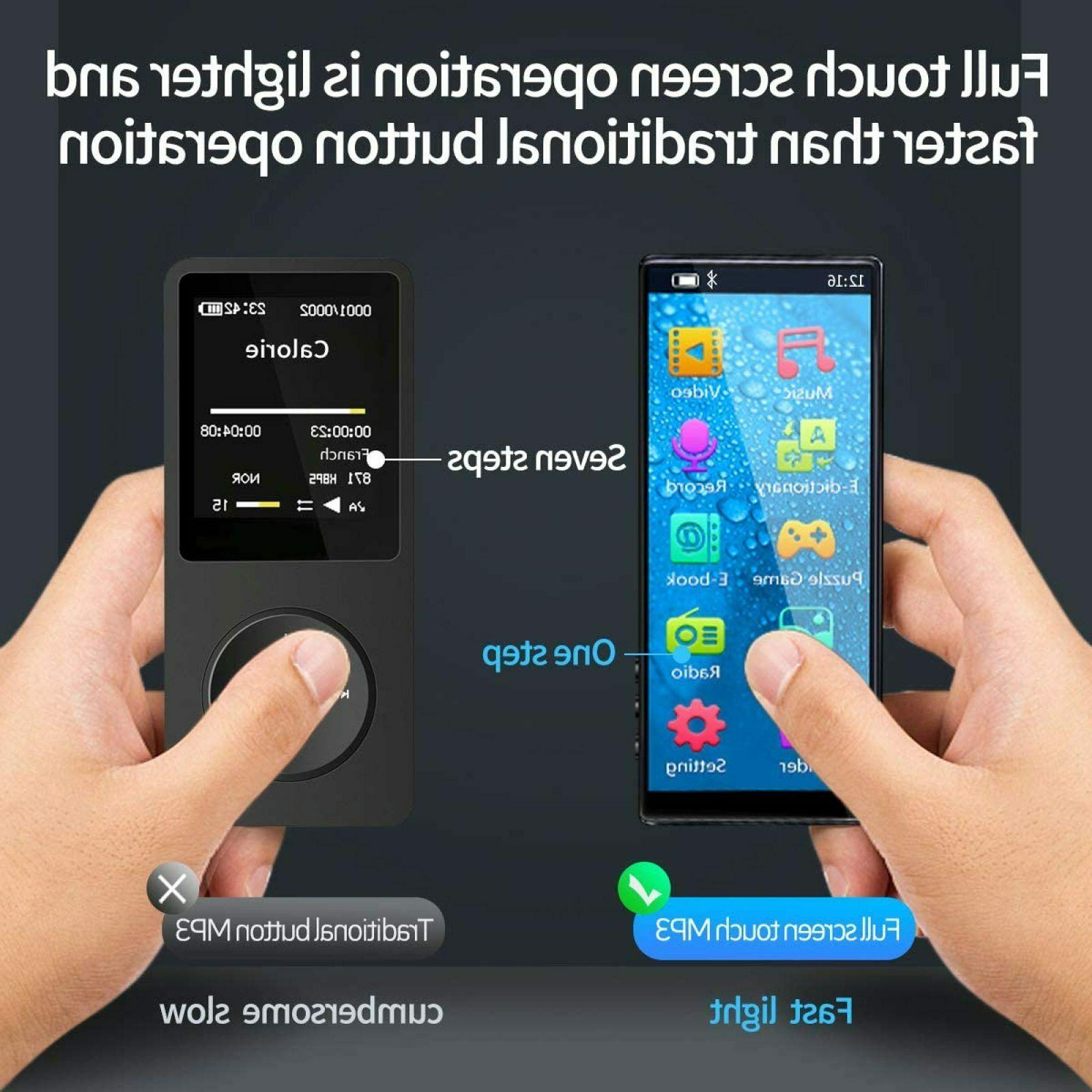 MYMAHDI Bluetooth High & Touch Screen, FM