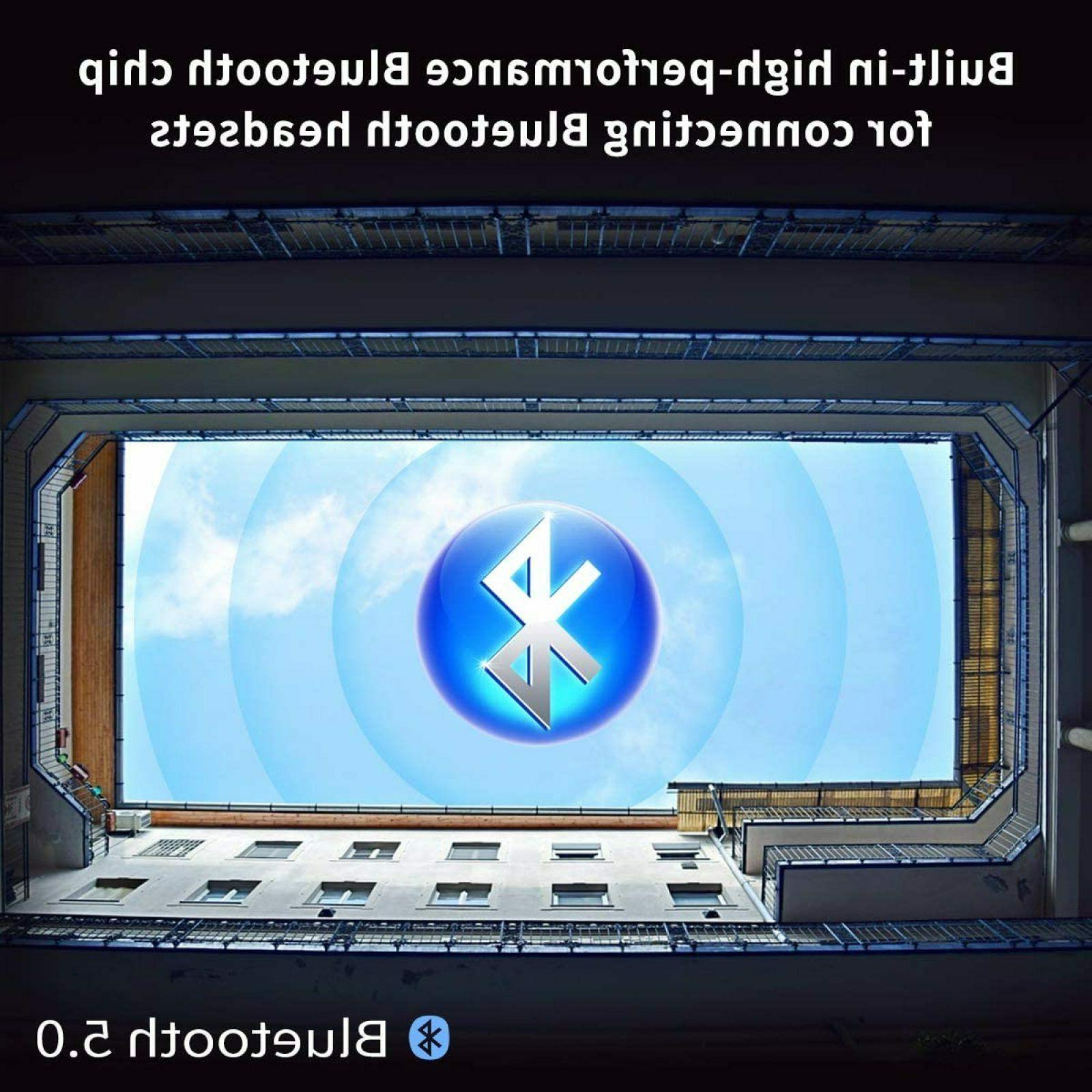 MYMAHDI Bluetooth 5.0, High Resolution & FM