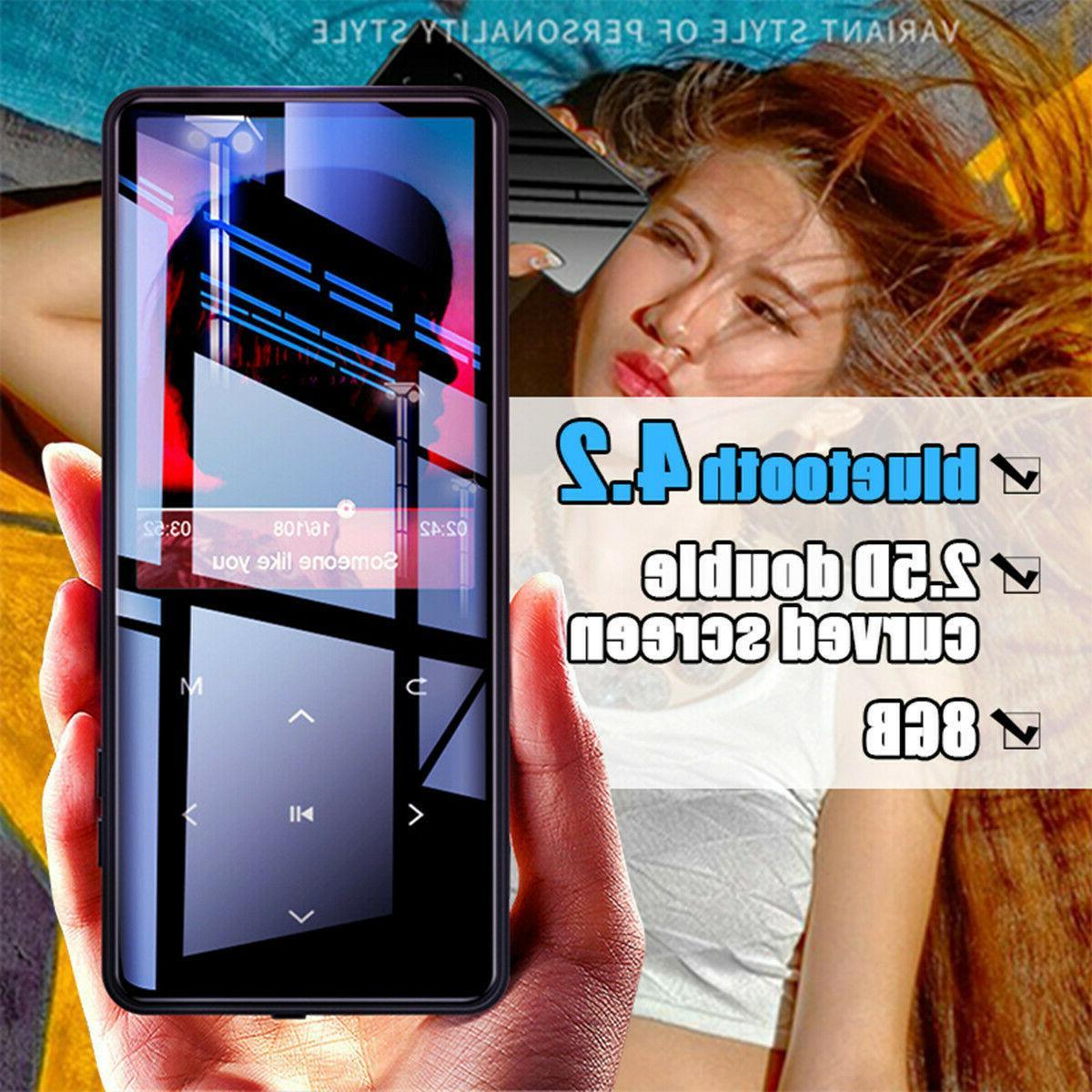 8gb portable hifi bluetooth ultrathin touch screen