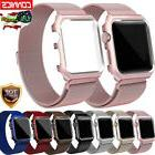 Milanese Stainless Steel iWatch Band Strap+Cover Case F Appl