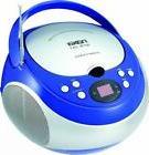 NAXA Electronics NPB-251BU Portable CD Player with AM/FM Ste