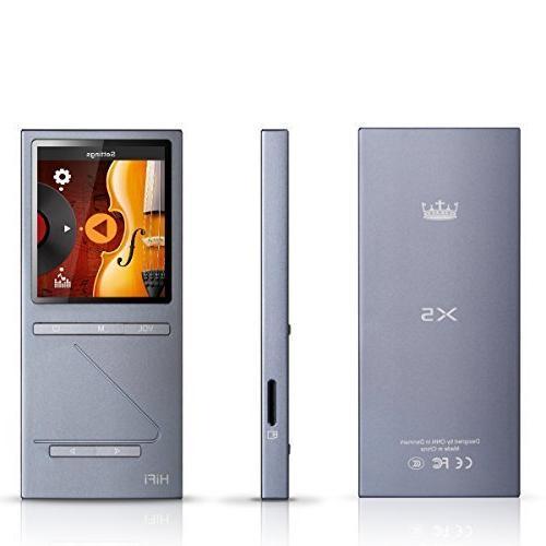 ONN X5 HIFI Music Player 8GB MP3 Player Sports MP3 Music Pla