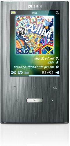 Philips GoGear Ariaz 8 GB MP3 Player