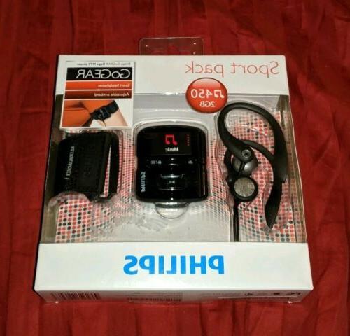 Philips SA4RGA02KFS/37 GoGEAR Raga Sport Pack MP3 Players -