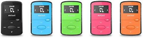 SanDisk 8GB Jam MP3 Player -