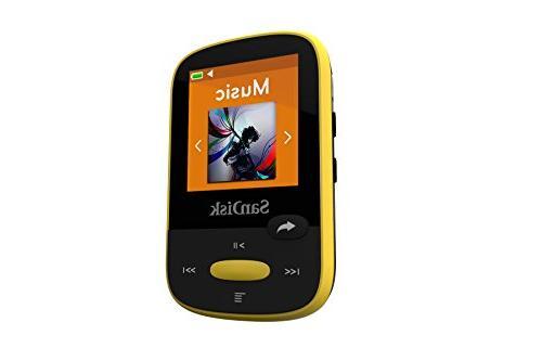 SanDisk Clip MP3 LCD Screen Card Slot-