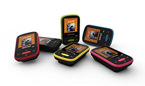 SanDisk Clip Sport 8GB MP3 Player, LCD Card