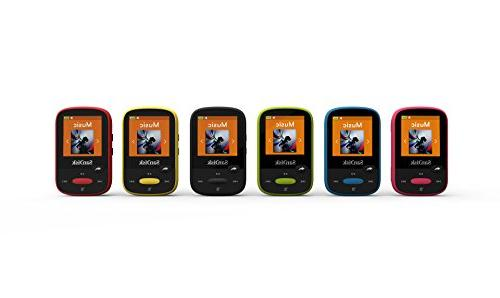 SanDisk MP3 Player, With LCD Screen Card Slot- SDMX24-008G-G46Y