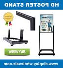 Signworld Premium Poster Stand Sign Holder Bulletin Display