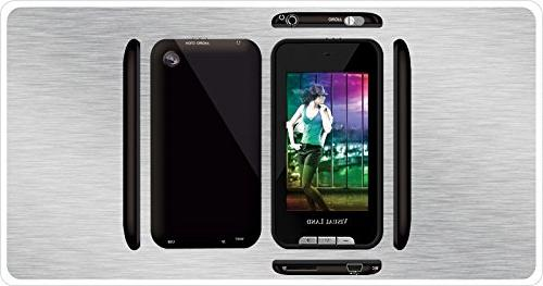 Visual 4 GB MP3 Player with Touchscreen Built-In