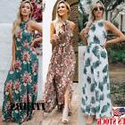 Women Maxi Boho Floral Summer Beach Long Dress Skirt Evening
