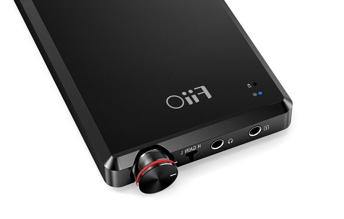 a5 portable headphone amplifier black or titanium