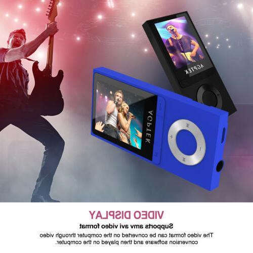 AGPtek Latest Music Player Portable Support