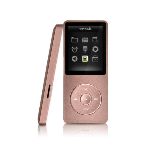 AGPTEK® MP3 Music Player With Digital LCD Screen Supports u