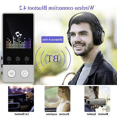Portable Multifunction Lossless Sound Music Bluetooth MP3 Player Support