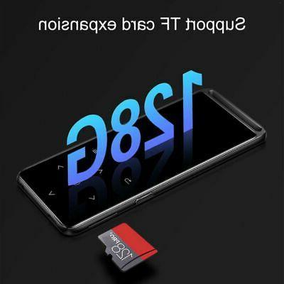 Portable Bluetooth 5.0 MP4 Lossless MP3 Player HiFi Audio Pl