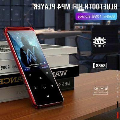 Portable Bluetooth MP4 Lossless Audio Player