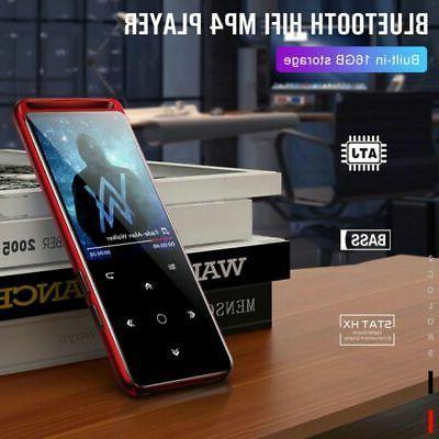 Portable Bluetooth 5.0 Lossless MP3 Player HiFi Audio Player