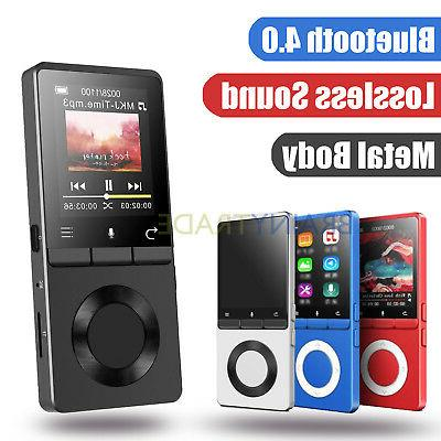bluetooth 4 0 lossless music player metal