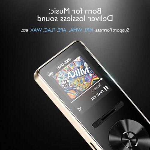 AGPTEK 4.0 MP3 Player Hi Fi 8
