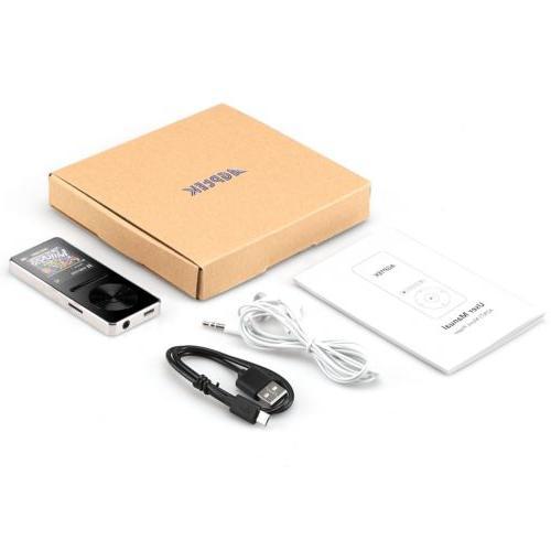AGPTEK Bluetooth Player with Lossless Hi FM 8