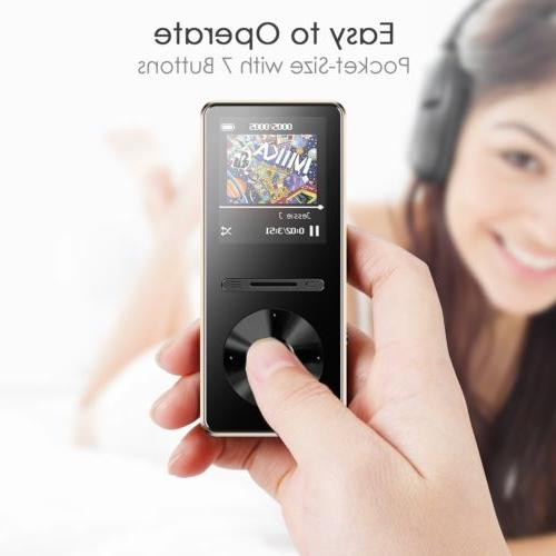 AGPTEK Bluetooth Player with Lossless Hi