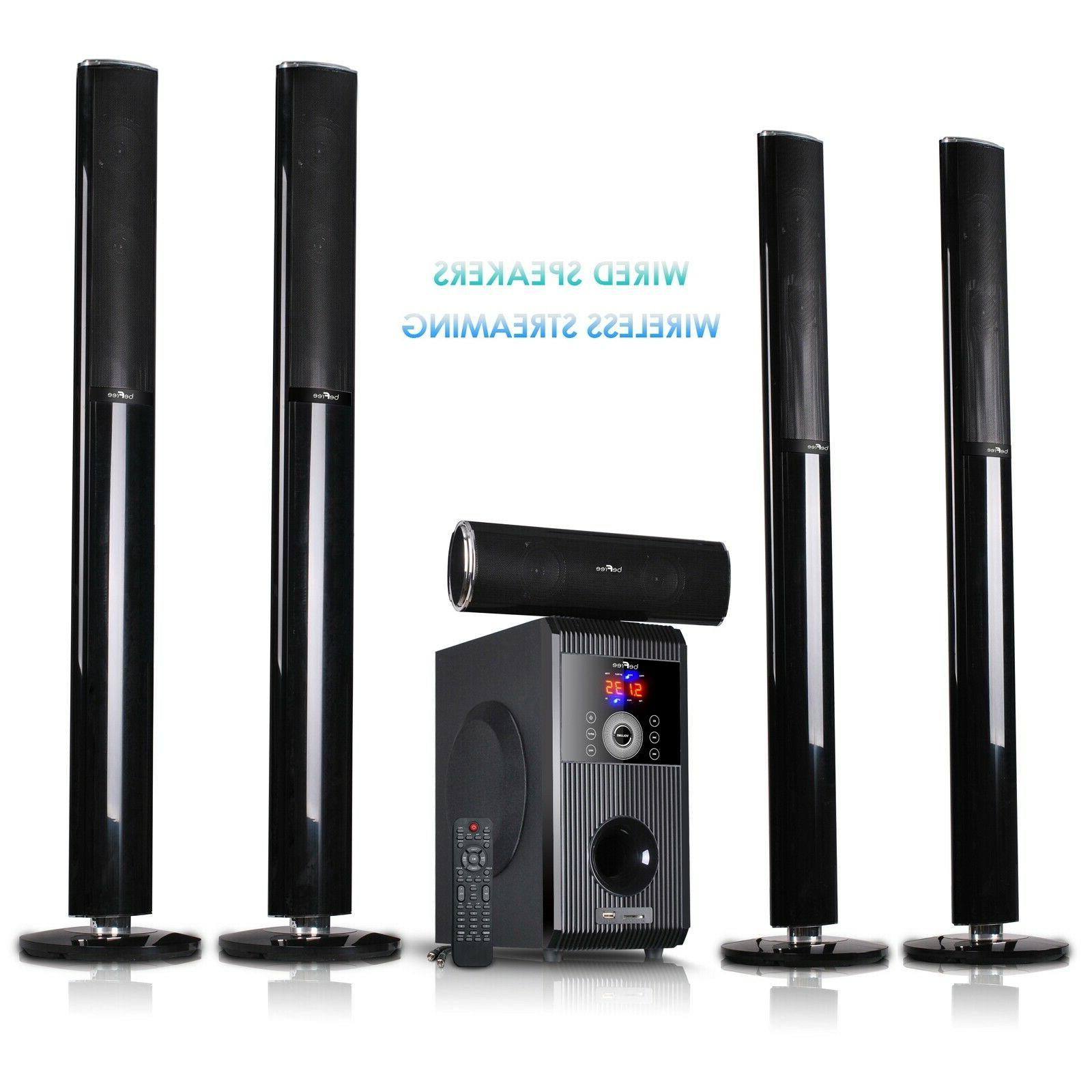 BLUETOOTH 5.1CH HOME SURROUND SOUND STEREO SYSTEM