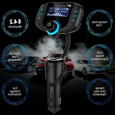 Car MP3 Player Charger FM Transmitter Wireless