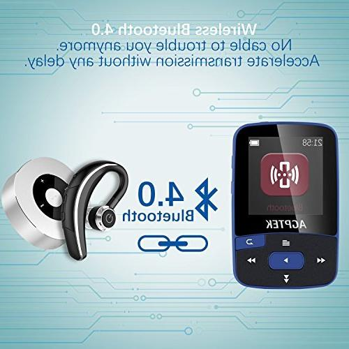 Bluetooth with A50 Player with & Slot up Sport