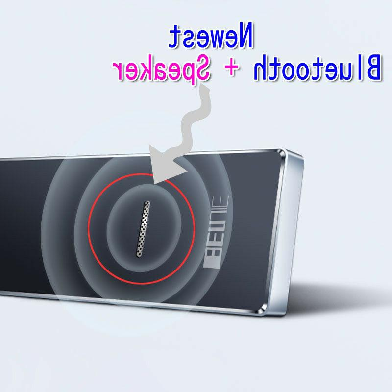 Bluetooth mp3 Screen BENJIE Ultra thin 8GB Player with