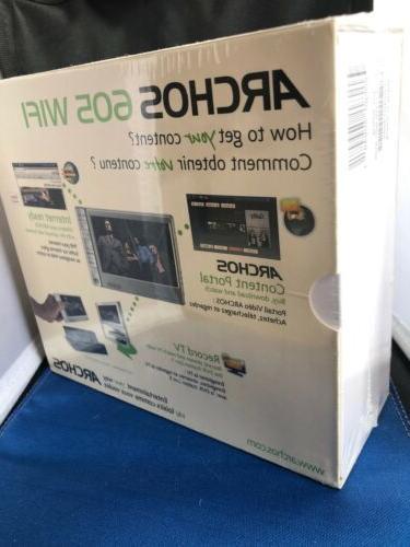 Brand New 605 WiFi Media