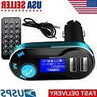 Car Bluetooth FM Transmitter Wireless MP3 Radio Player Charg
