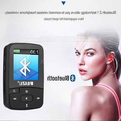 Original RUIZU X50 8GB Sport Clip Bluetooth MP3 Player Music