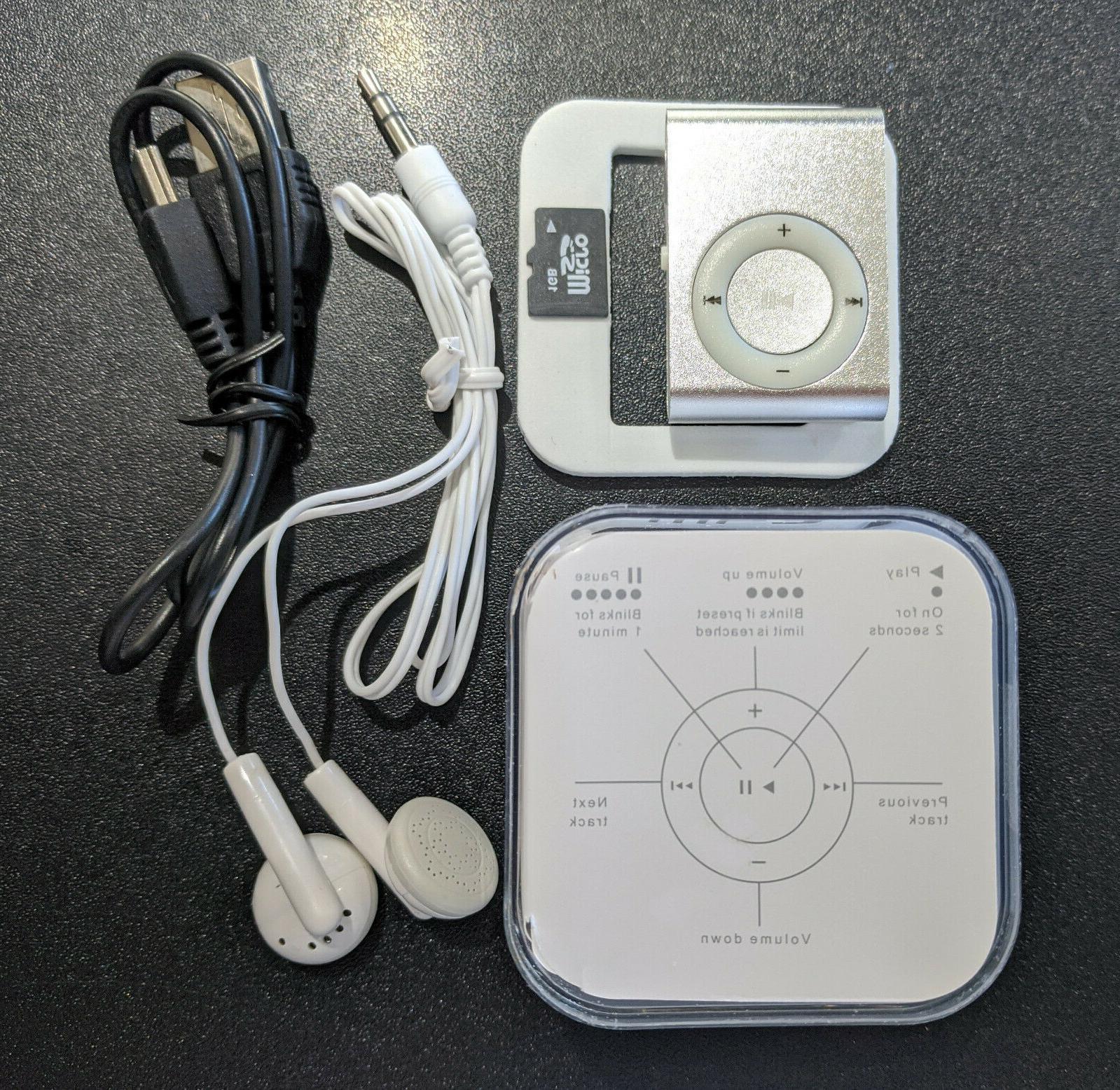 Mini Clip Player For Travel, & Walks