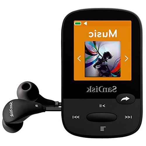 SanDisk Clip MP3 LCD Card Slot