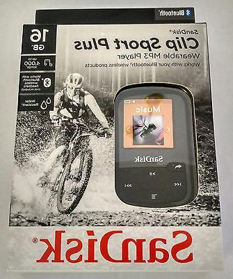 SanDisk Clip Sport 16GB BLACK MP3 Music