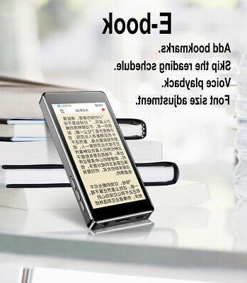 RUIZU D20 Full Touch Screen EQ 1080P Music Player