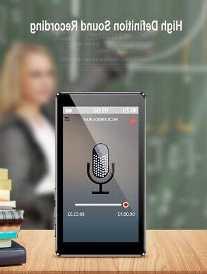 RUIZU Full Screen 1080P Recording Radio Music