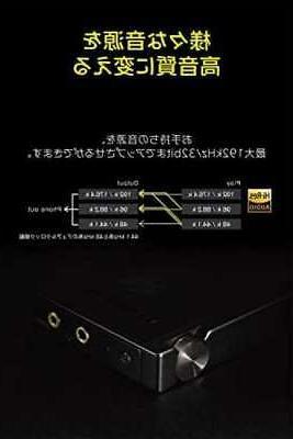 ONKYO Audio Player rubato Hi-Res Compatible Black DP-S1