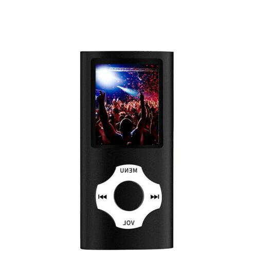 Digital Portable MP4 64GB SD FM
