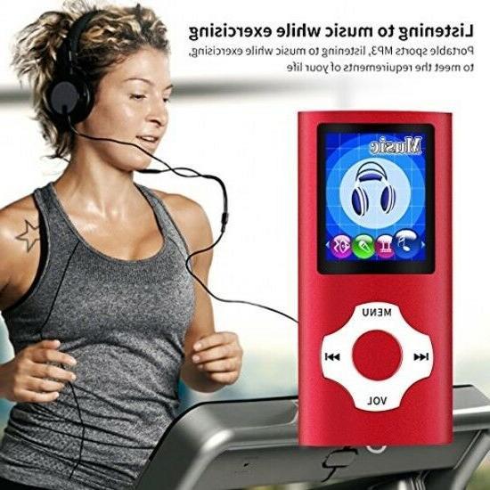 MYMAHDI Portable MP3 MP4 Player GB Micro