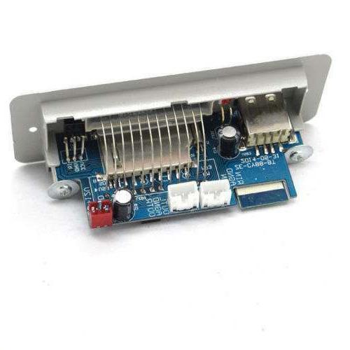 Digital LED Player audio decoder FM AUX USB 12V car