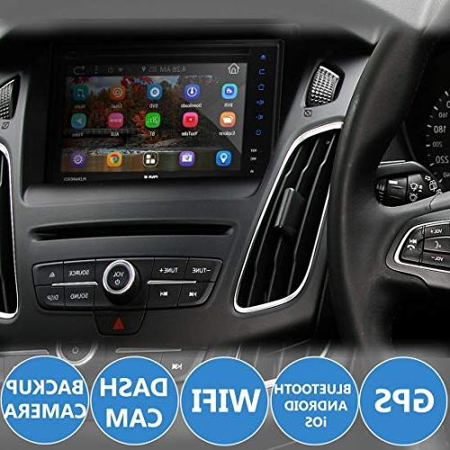 System Android Stereo with and Player 1080p DVR and Backup with App, Navigation