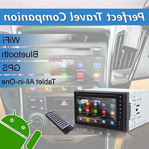 """Double System 6"""" Android Stereo DVD and 1080p Dash Cam and Rearview with App,"""